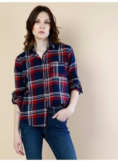 Uzun Kollu Kareli Gömlek-Colin's